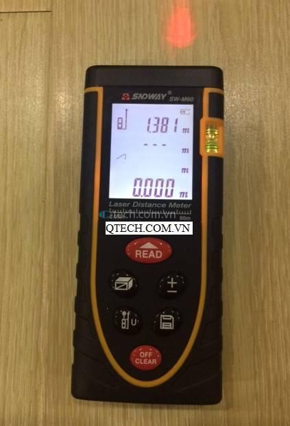 Thước đo laser SNDWAY (80m)