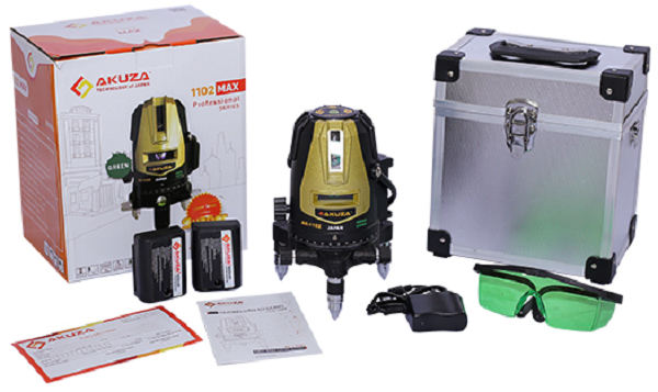 Máy cân bằng laser Akuza 1102 MAX