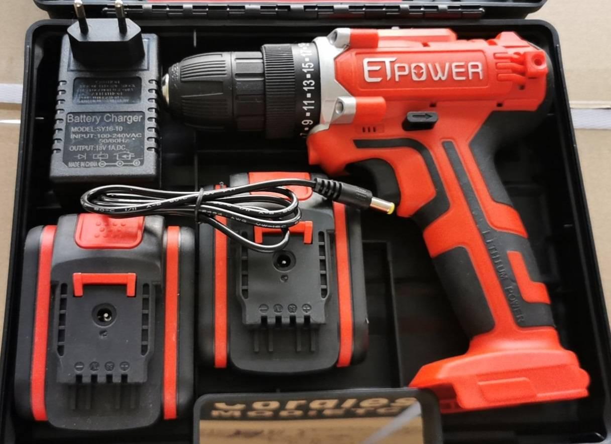 Máy khoan pin ETPOWER ETCD01-168